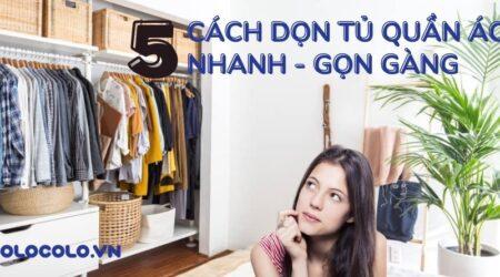 dọn tủ quần áo