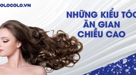 kiểu tóc ăn gian chiều cao