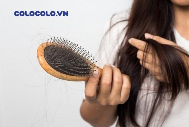 rụng tóc thiếu chất gì
