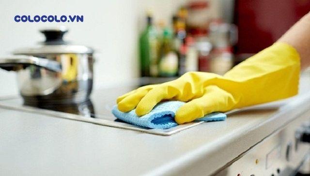Chỉ dùng một miếng giẻ lau khi dọn dẹp nhà cửa là sai lầm rất phổ biến