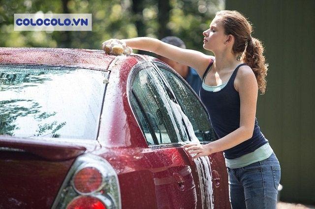 Sử dụng ô tô nhưng phụ nữ rất ngại việc vệ sinh xe