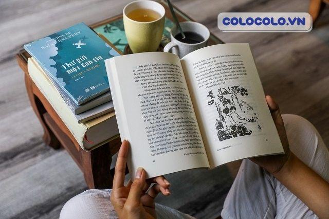Đọc sách là cách giúp tinh thần trở nên thư thái hơn khi ở nhà mùa dịch