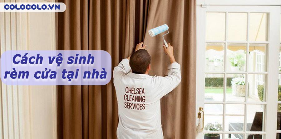 Cách vệ sinh rèm cửa