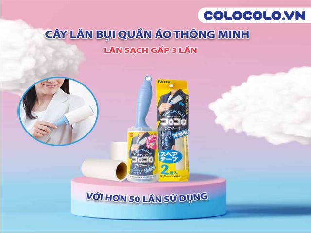 Cây lăn bụi quần áo COLOCOLO - Lăn sạch mọi bụi bẩn