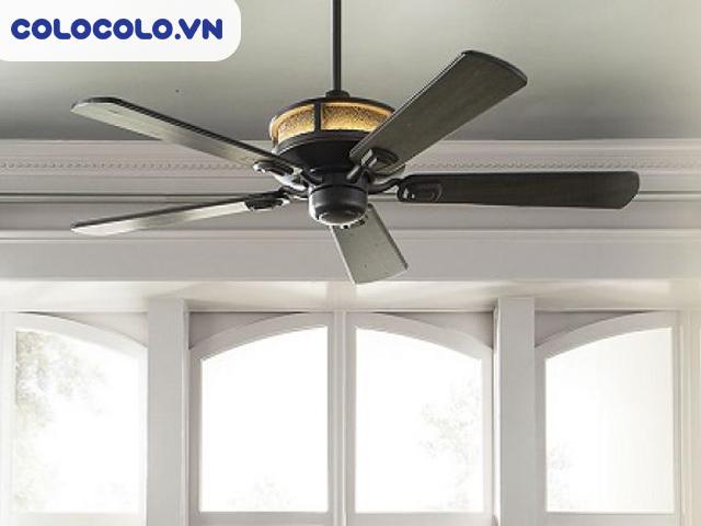 Sử dụng quạt trần thay cho máy lạnh là một trong những cách tiết kiệm điện tốt nhất