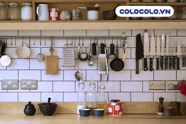 Bố trí căn bếp gọn gàng là một phần quan trọng khi sắp xếp nhà cửa