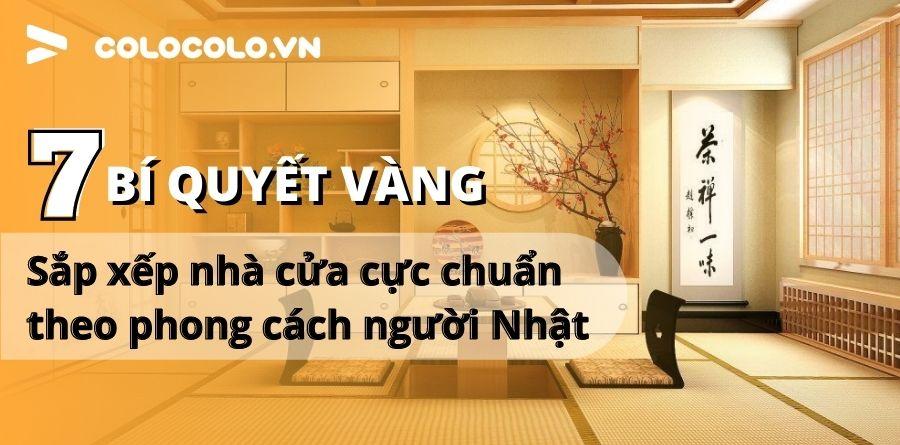 cách sắp xếp nhà cửa sạch sẽ gọn gàng theo kiểu người Nhật