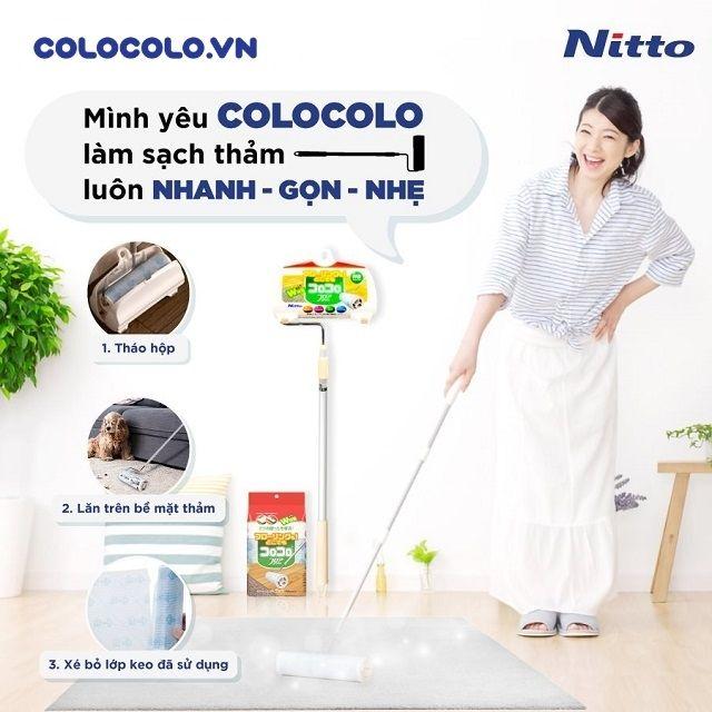 cây lăn bụi sàn nhà vệ sinh thảm văn phòng hiệu quả