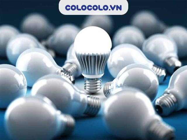Sử dụng bóng đèn LED tiết kiệm điện